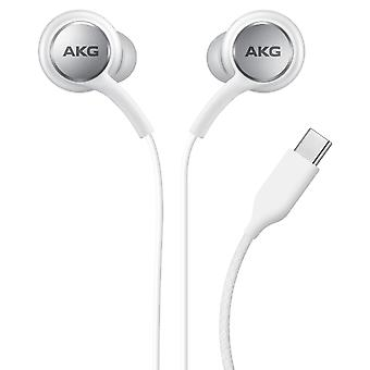 USB-C Earbuds Multi-function Buttons- Samsung, White