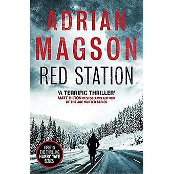 Red Station by Adrian Magson - 9781786898609 Book