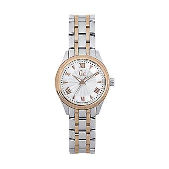 GC Y03002L1 Smart Class Ladies Watch - Silver & Gold