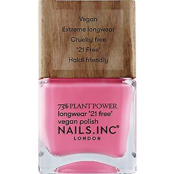 Nails inc Plant Power Nail Polish Collection - Detox On Repeat 14ml