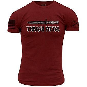 Grunt Style Thrash Metal T-paita - Kardinaali