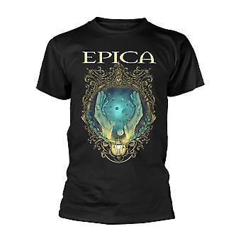 Epica Mirror Officiel Tee T-Shirt Mens Unisex