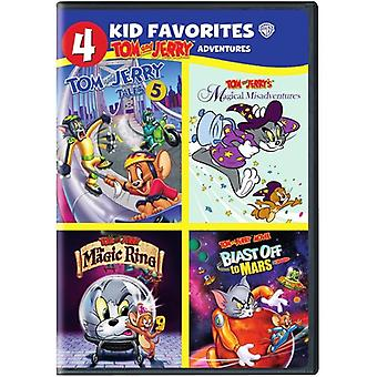4 Kid Favorites: Tom & Jerry Adventures [DVD] USA import