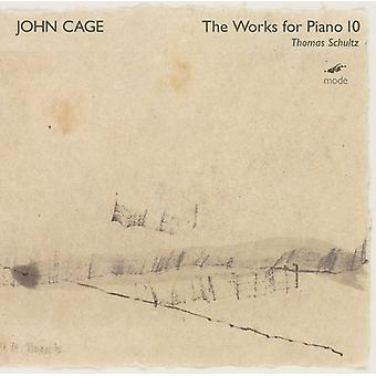 Cage / Schultz - Works for Piano 10 [CD] USA import