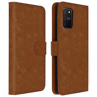 Capa para Galaxy S10 Lite Integral Case Card Holder Function Brown