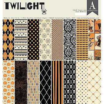 Authentique Twilight 12x12 Tuuman Paperityyny