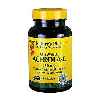 Acerola C 90 tablets of 250mg