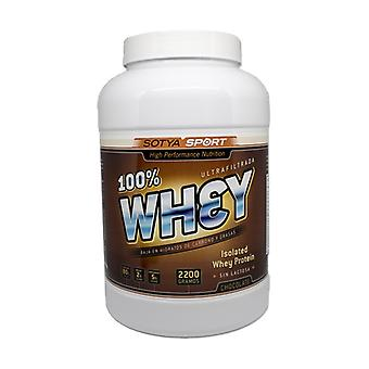 Whey Proteins 100% 2,2 kg (Chocolate)
