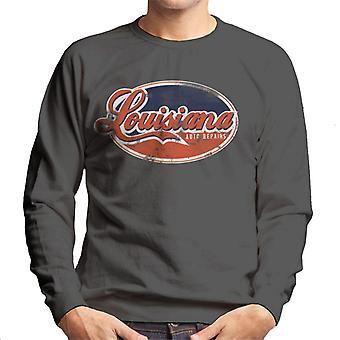 London Banter Louisiana Auto Repairs Men's Sweatshirt