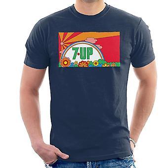 7up Vintage 70s Sunset Men's T-Shirt