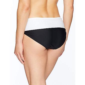Brand - Coastal Blue Women's Swimwear Convertible Fold Over Bikini Bot...