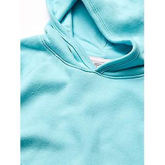 Essentials Girl & apos, s pulóver mikina s kapucňou, Aqua, XX-Veľké