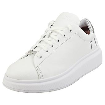 Ted Baker Ailbaa Womens Platform Trainers in White
