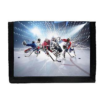 Portefeuille de hockey sur glace
