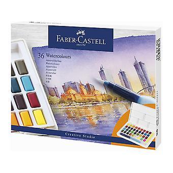Faber Castellin akvarellimaalilaatikko (36kpl) (FC-169736)