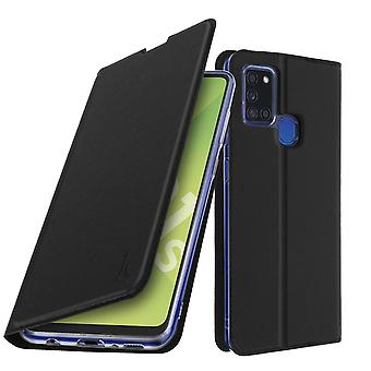 Case for Samsung Galaxy A21s Folio with Card Holder - Black