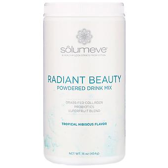 Solumeve, Radiant Beauty, Grass-Fed Collagène, Probiotiques & Superfruits En poudre