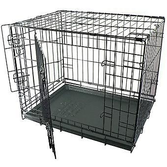 Dogit Wire Home 2 dveře - černá - obří (122,5x 74,5x 880,5 cm)