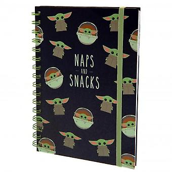Star Wars The Mandalorian Notebook Snacks