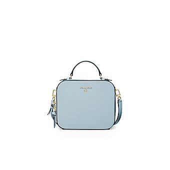 MICHAEL KORS JET SET CHARM LIGHT BLUE CROSSBODY BAG