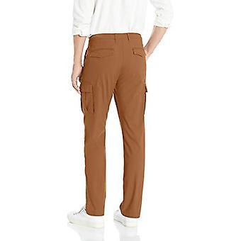Goodthreads Men's Straight-Fit Ripstop Cargo Pant, -khaki, 33W x 32L