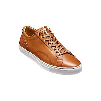Barker Axel - Cedar Calf  | Mens Handmade Leather Sneakers | Barker Shoes