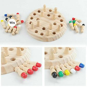 Kids Wooden Memory Match Stick Chess Game Educational, Cognitive Ability Toy