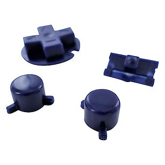 Button set for nintendo game boy pocket console a b d-pad power switch replacement - purple | zedlabz