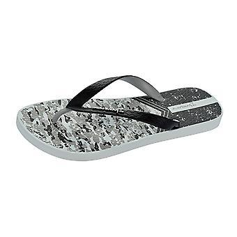 Ipanema Parati II Herren Strand Flip Flops / Sandalen - grau und schwarz