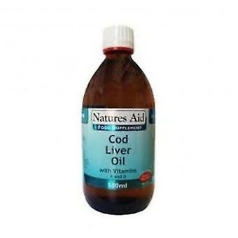 Natures Aid - Cod Liver Oil Liquid 500ml
