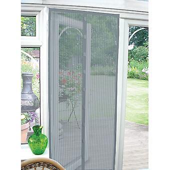 Country Club Magnetic Door Screen, Grey