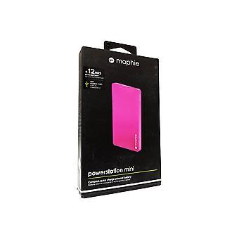 Mophie powerstation Mini - Universal External Battery for Smartphones 3,000mAh - Pink