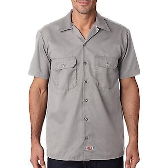 Dickies short sleeve work shirt 1574 - silver
