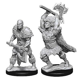 Goliath Male Barbarian Dungeons & Dragons Nolzurs Marvelous Miniatures 6 Packs