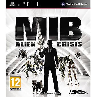 Män i svart Alien Crisis PS3 spel