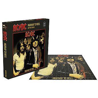 AC / DC Puzzel Highway To Hell Album Cover nieuwe officiële 500 Stuk