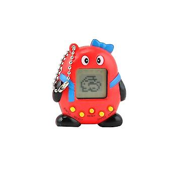 Tamagotchi Electronical Animal Egg Red with bow tie