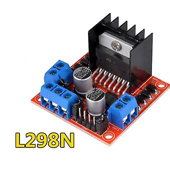 L298n Driver Board Module And Stepper Motor