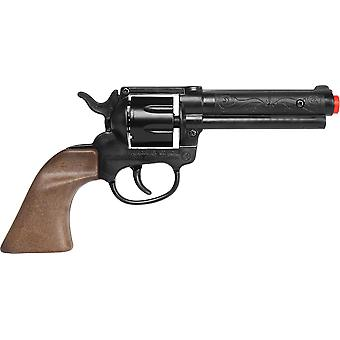 CAP GUN  - 119/6 - Gonher Plastic Cowboy Revolver 8 Shots