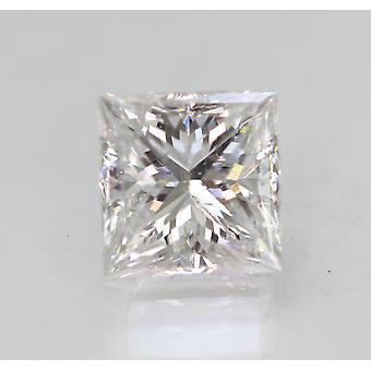 Zertifiziert 1,74 Karat D VS2 Prinzessin Enhanced Natural Lose Diamant 6.87x6.67mm