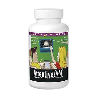 Quelle Naturals Attentive DHA, 100 mg, 60 Softgels