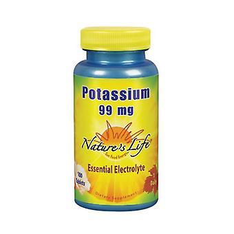 Nature's Life Potassium, 99 mg, 100 tabs