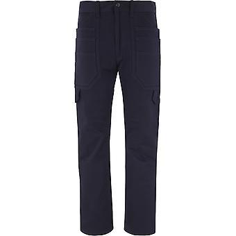 Junya Watanabe Wfp023w20 Men's Blue Cotton Pants