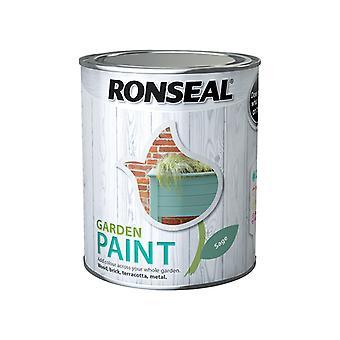 Ronseal Garden Paint Sage 750ml RSLGPSA750