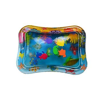 Water Play Mat Inflatable Thicken Pvc Tummy Temps