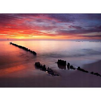 Tapet väggmålning Baltic Sunrise