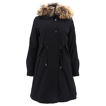 Woolrich Wwcps2830ut1974100 Women's Black Cotton Outerwear Jacket