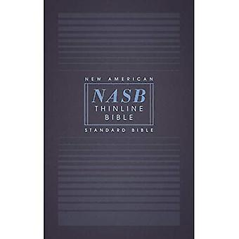 NASB, Thinline Bible, Paperback, Red Letter Edition, 1995 Text, Comfort� Print