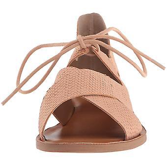 Sandalia plana de Hafsa de marca suerte