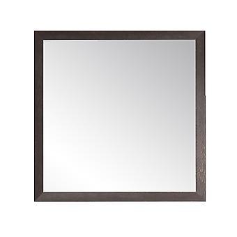 Texture Expresso Farmhouse Square Ou Diamond Wall Mirror 29.5'' X 29.5''